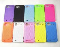 Mesh hard case skin back cover for HTC G11 Incredible S/S710e
