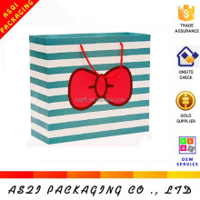 cute strip design packaging photo album bag with printing