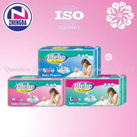 reasonable fluff pulp overnight sleepy disposable baby diapers in south africa