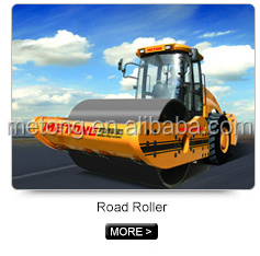 Fully hydraulic single drum vibratory road roller