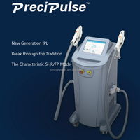 Medical CE,FDA,TGA approved face lift machine / SHR/IPL/FP laser hair removal device