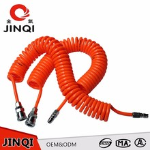 2017 Top Quality Corrosion Resistance Pneumatic flexible spiral pu recoil air compressor inner hose