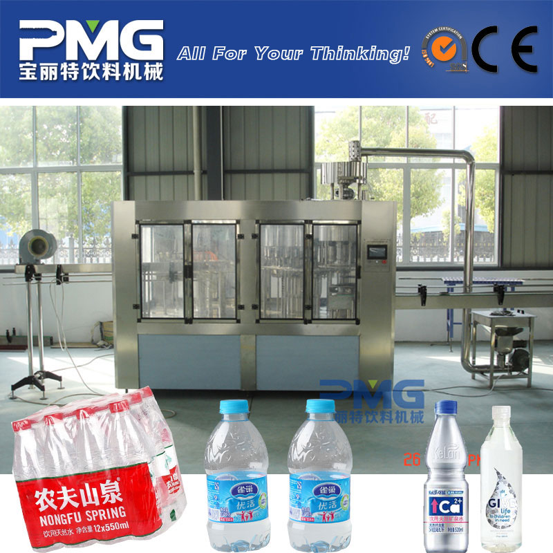 CGF24-24-8 automatic 3-in-1 drinking water bottling plant / machine