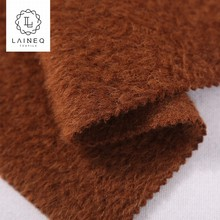 2018 popular high end baby suri alpaca loop yarns merino wool fabric for coat