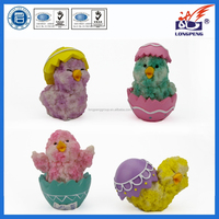 Easter Day Old Chicks for Sale,Chick Beanie Baby (4 Pack),Easter Chick Figures