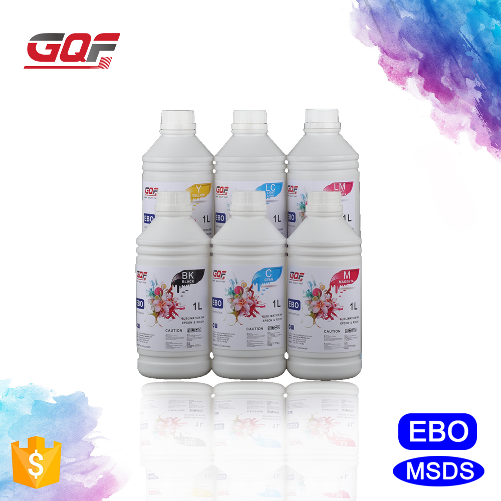 High-end Digital Texitile Printing Dye Heat Sublimation Transfer Ink