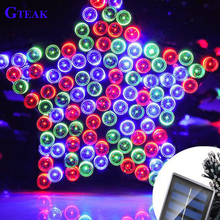 Christmas hot selling shenzhen factory solar powerd string lights
