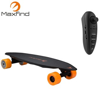 AU warehouse free shipping dual motor electric skateboard with 31 inch