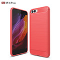 For Xiaomi Mi 6 Case Carbon Pattern Soft TPU Case Have Stock
