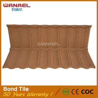 Hot selling products Wanael Bond Cheap Metal Roofing Plastic Shingles