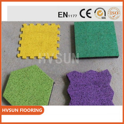 360 Training rubber gym functional floor Easy for Installation