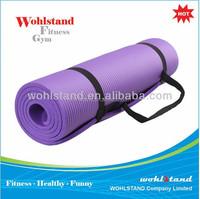 Long NBR Comfort Foam Yoga Mat for Exercise