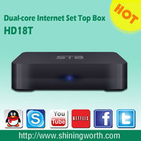 OEM/ODM manufacturer /support xbmc airplay dlna Dual-core Android dvb-t iptv set top box
