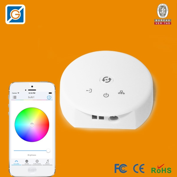 12V Wireless Bluetooth V40 RGB LED Strip Light Controller