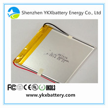Bulk Buy 807070 Custom li ion lipo lithium polymer li-polymer 3.7v 4800mah li-ion rechargeable batteries