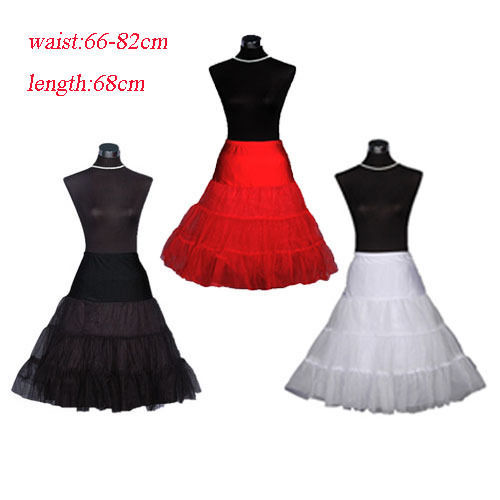 "New 50s 26"" Retro Underskirt Swing Vintage Petticoat Fancy Net Skirt long Rockabilly in fashion"