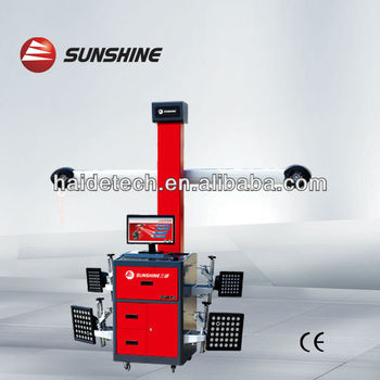 "manufacture ""sunshine"" brand wheel alignment machine SP-G6 with CE&ISO"
