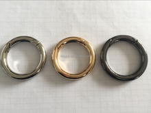 Hardware accessories metal spring ring for luggage and bags