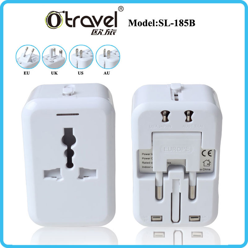 Mobile phone accessories Adaptador de viaje,international travel charger adapter world plug adapter -universal AC socket-safety