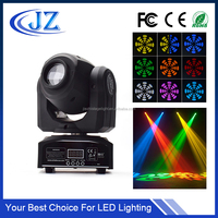 10w led mini gobo projector spot rotating moving head stage light