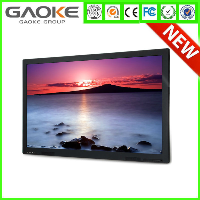 interactive original lcd screen 55'' 70'' lcd 1080p4k projector with built-in pc screen displays education lcd touch screen tv