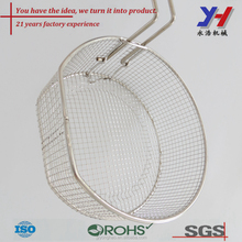 sOEM ODM Custom Stainless steel mesh oil pasta cooking strainer for noodle