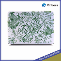 Custom Printed Pattern Hard Shell Protective Plastic Case for MacBook Air 11.6 13.3 Pro Retina 12 13 15 Cover