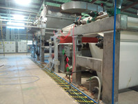 Waste paper as raw material tissue paper mill