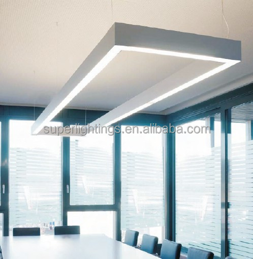 Aluminum profile led linear trunking lighting system led linear light led tube light