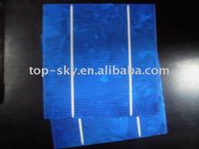 chipped polycrystalline solar cell with good quality