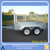 8*5 box car tralier / Heavy Duty Tandem Trailers For Sale