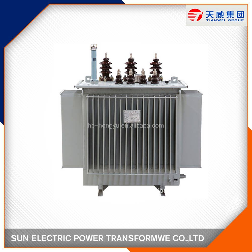2016 new 500kVA double windings oil filled type distribution transformer with power tools