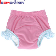 Wholesale trendy model cute fancy girls underwear kids