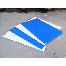 Color lasting and stable Corrugated metal roofing sheet asa color PVC coated roof tile wholesale