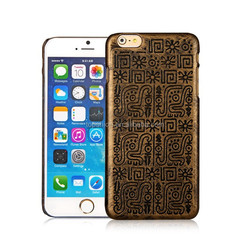 China supplier fashion PC hard case laser engraving cell phone cover for iphone6