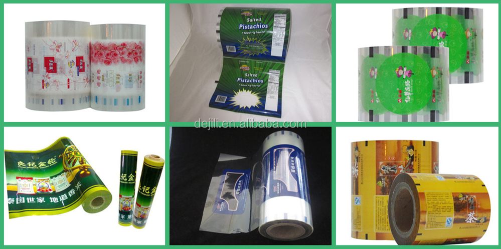 2015 Custom Printed Snack Packaging Roll Stock