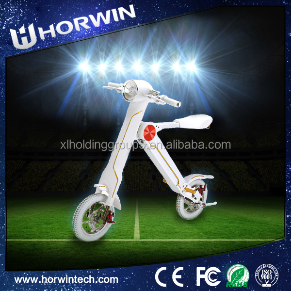 New type 350W Electric Folding E-Mini 150cc dirt bike for sale cheap saddle fat wheels Bike from Horwin