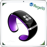Fashion Design Bluetooth Bracelet Wrist Watch L12S OLED Smart Phone Watch with NFC Function