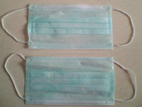 Dispoasble medical breathable 1 ply or 2 ply paper face mask
