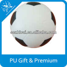11 panels football stress reliever logo print stress soccer 6.3cm diameter stress football