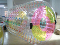 Colorful Transparent zorball water roller/ beach ball A7009B