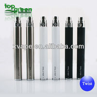 2013 high quality Topgreen variable voltage battery ego v v battery