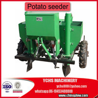 Two rows Potato seeder / planter for tractor