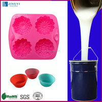 Chinese Food Grade RTV Liquid Silicone Rubber raw material for cake mold