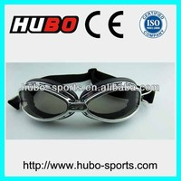 high quality anti scratch gray lens motorbike racing safety goggles