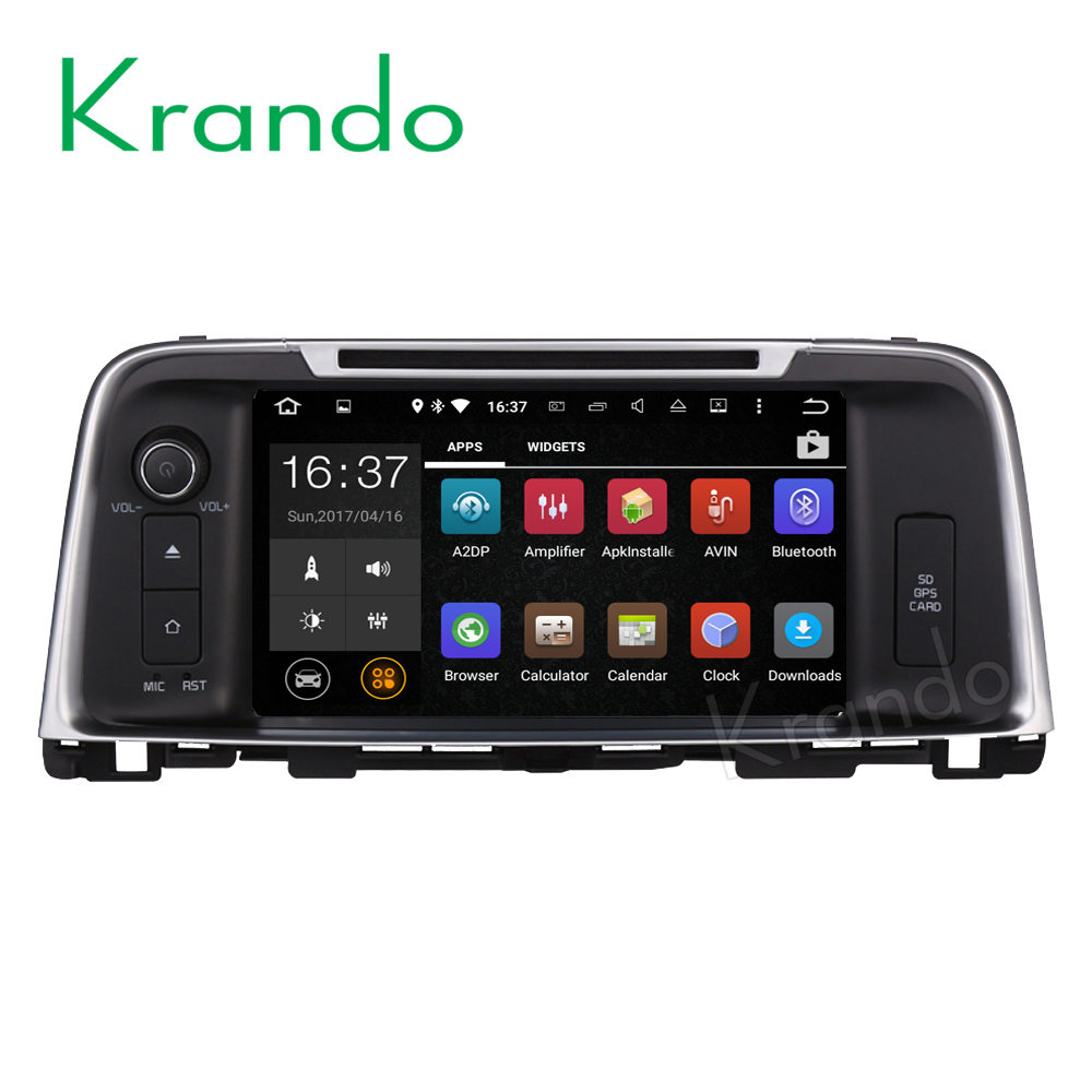 "Krando Android 7.1 8"" 2G RAM car radio dvd player for kia k5 optima 2016+ android touch screen gps navigation system KD-KK816"