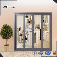 Decoration Door Aluminum Material Powder Coated Sliding Door