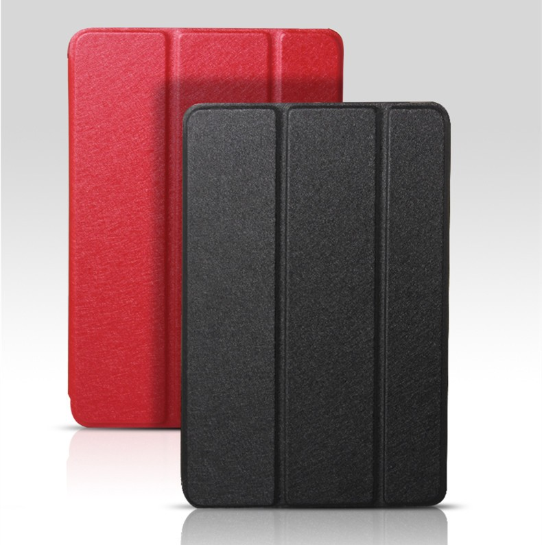 Ultrathin Smart Case 3 Folder Stand Smart Cover Case PU Leather Case For iPad Air2