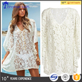 hot summer woman swimwear lace beach cover