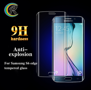 Free Sample OEM tempered glass for samsung galaxy s6 edge tempered glass screen protector